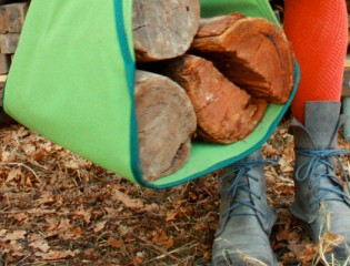 Firewood sling-logs