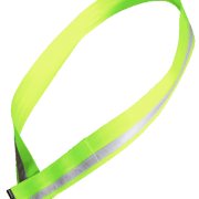 cycling sash, flouro lime, reflective