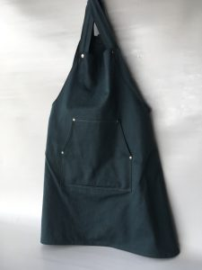 Coverall Apron, front