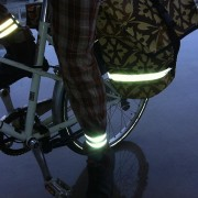 reflective legband for cyclists, horse riders and pedestrians,