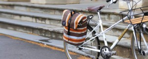RonDSwan canvas pannier bag