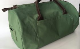 custom canvas duffel bag