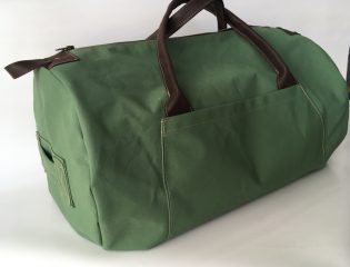 custom canvas duffel bag