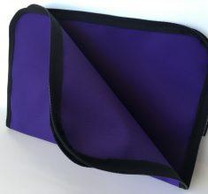 purple canvas compendium open