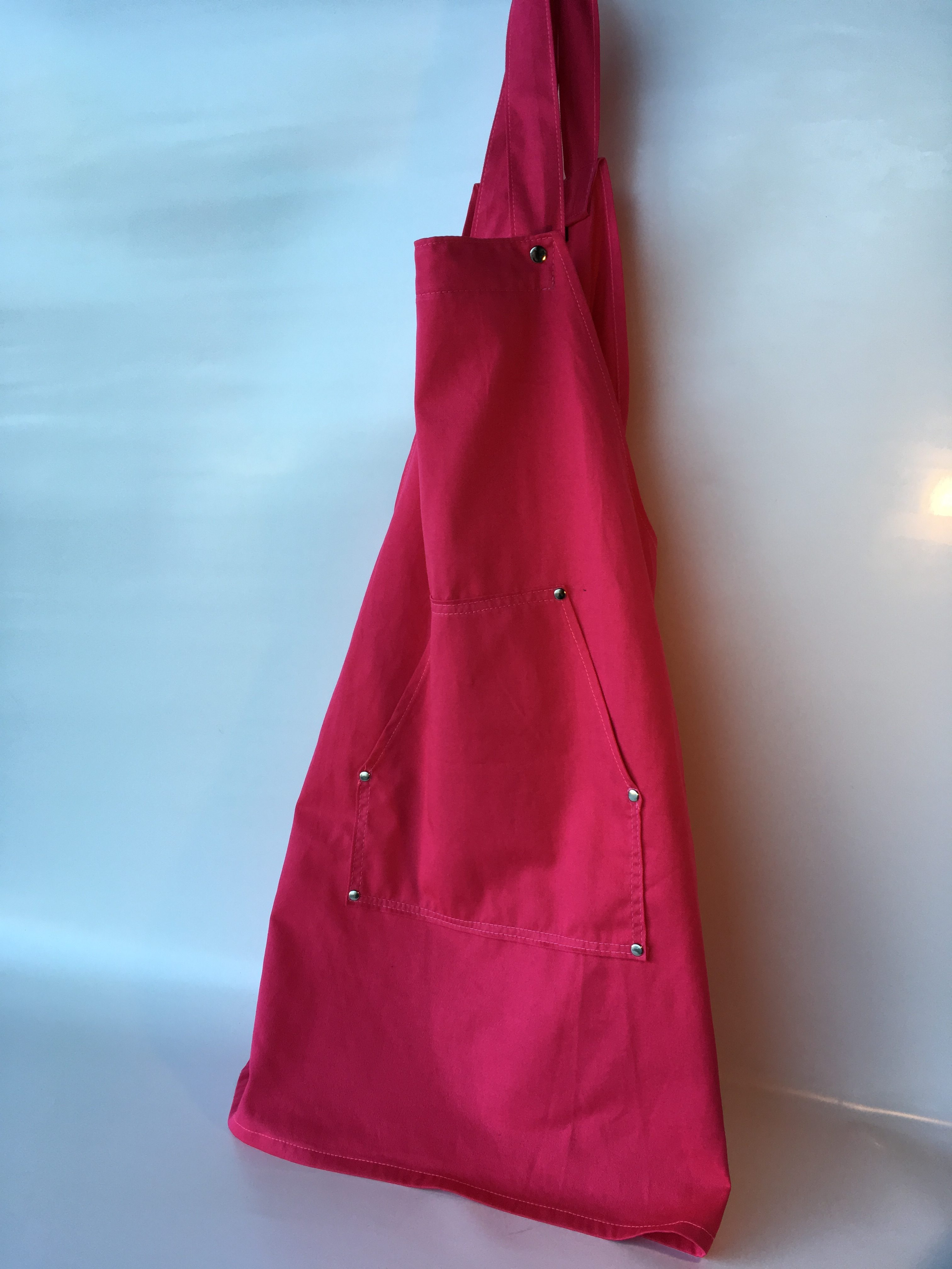 Coverall Apron - pink