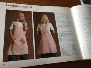 Coverall Apron inspiration