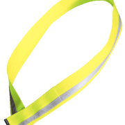 cycling sash, flouro yellow, reflective
