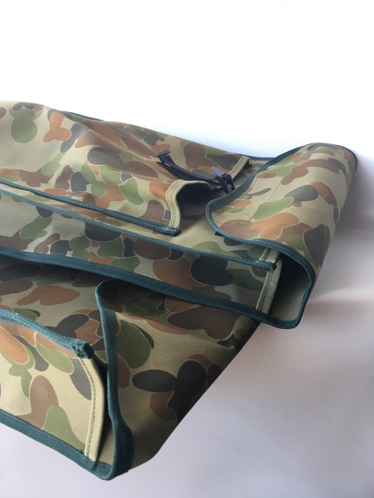 Camouflage gear bags