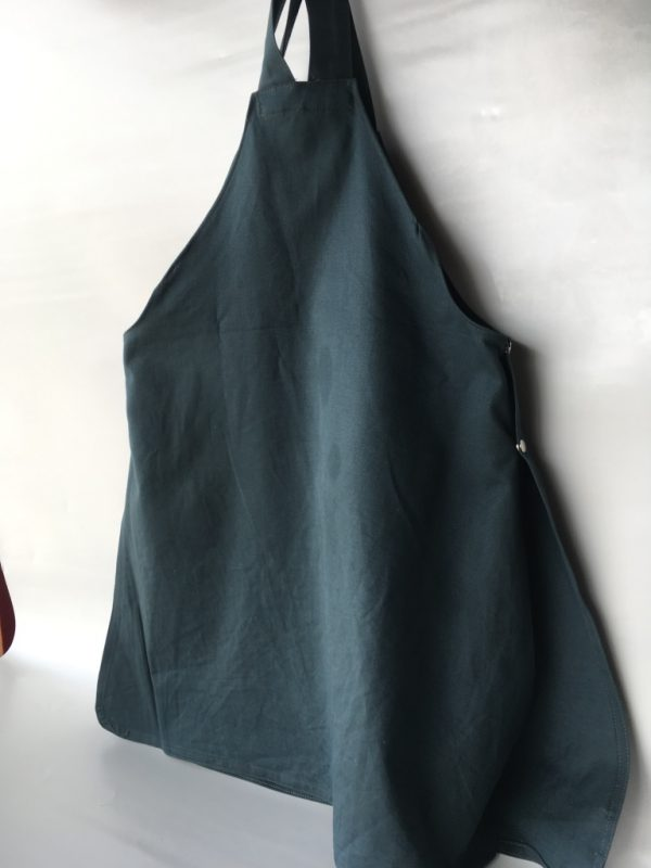 Coverall Apron, back