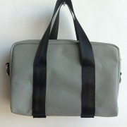 Grey canvas mini bag