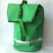 pannier-emerald green ripstop canvas