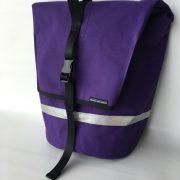 pannier-purpleripstop