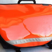 Shiny Orange for Brompton S-Bag flap