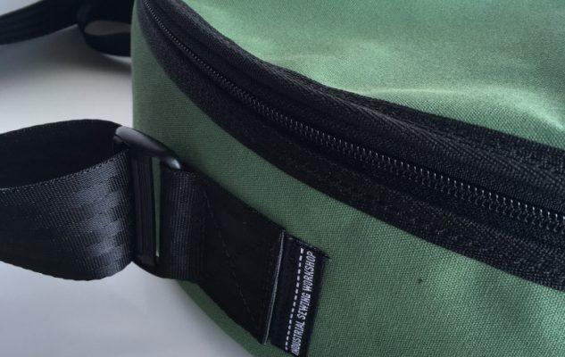 Custom drum bag - detail